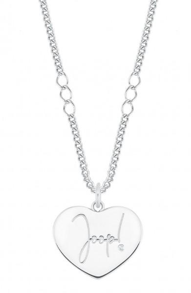 JOOP! Damen Halskette 2028351 Silber Anhänger Herz