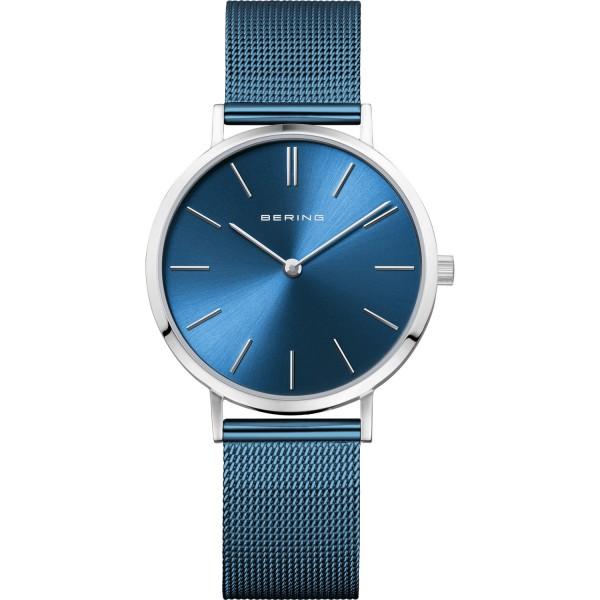 Bering Damen Armbanduhr 14134-308 Classic blau