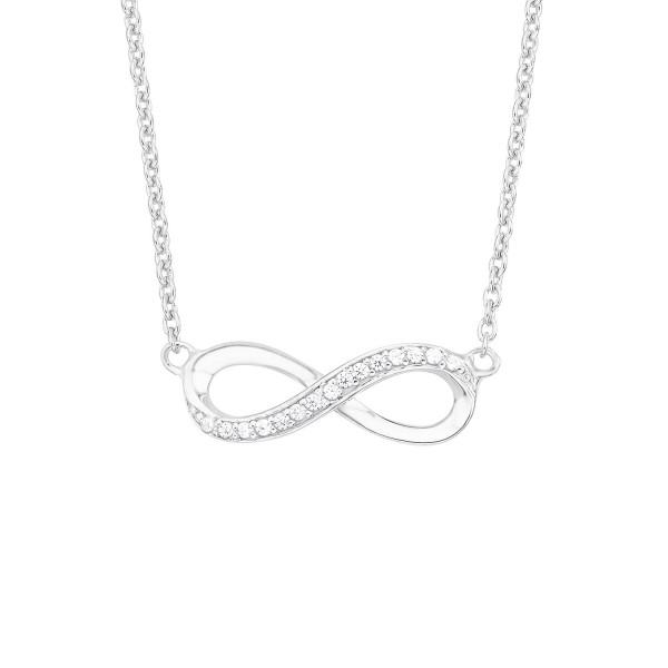 s.Oliver Damen Halskette 2012527 Infinity Silber