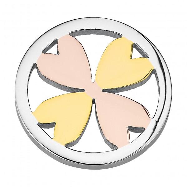 CEM Coins CS115/CS116 Anhänger Herzen Tricolor