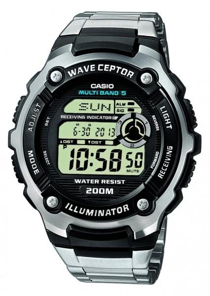 Casio Herren Armbanduhr Funk WV-200DE-1AVER digital