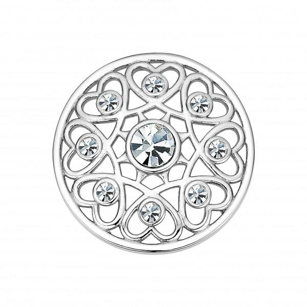 CEM Coins CS337/CS338 Anhänger Kristall