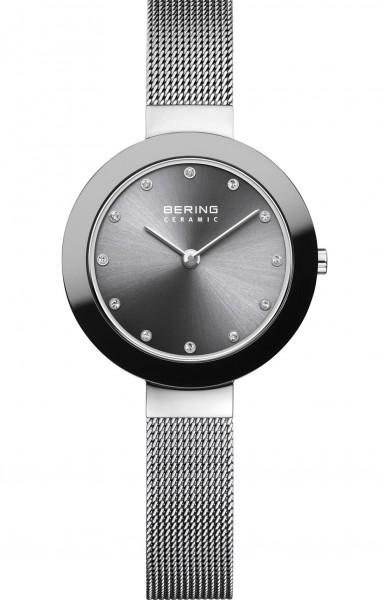 Bering Damen Armbanduhr 11429-389 Ceramic grau