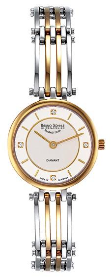 Bruno Söhnle Damen Armbanduhr 17-23103-242 Latina 2 Bicolor Brillant