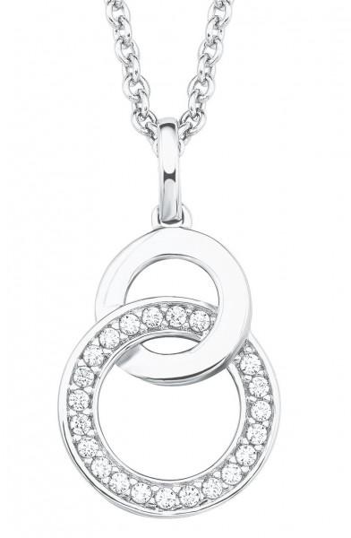 s.Oliver Damen Halskette 2025992 Silber Zirkonia