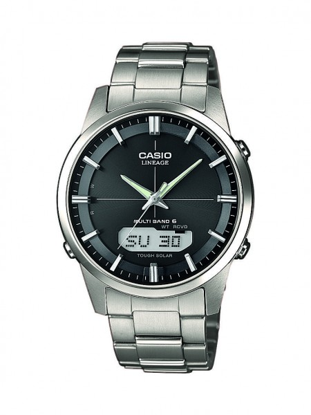Casio Herren Armbanduhr LCW-M170TD-1AER Funk Solar Titan