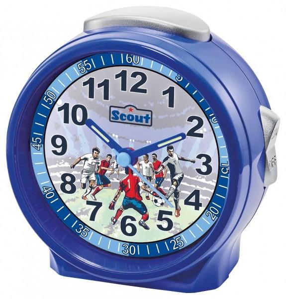 Scout Kinder Wecker Friends 280001072 Fußball blau
