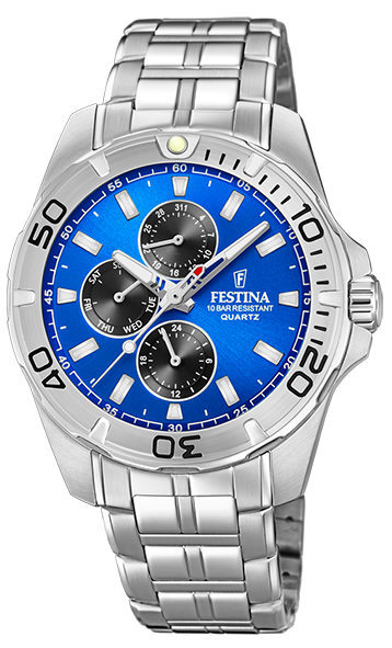 Festina Herren Armbanduhr F20445/4 Multifunktion