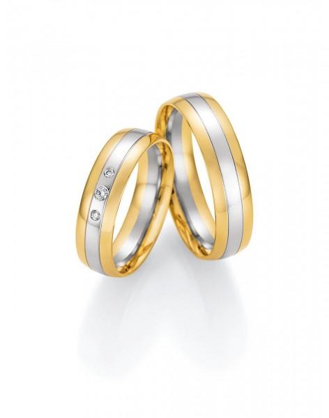 Eheringe Trauringe Solid VI 66/46170 66/46180 Weißgold Gelbgold