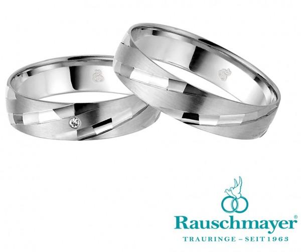 Eheringe Trauringe Rauschmayer Easy Line 20-03687 21-03687 Weißgold