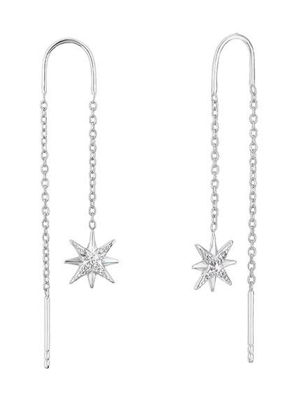 s.Oliver Ohrringe 2028518 Sterne Zirkonia Silber 925