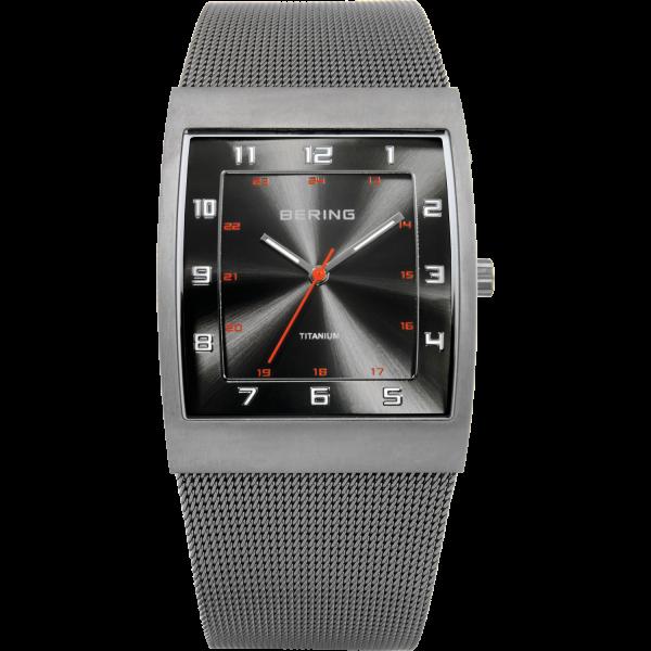 Bering Herren Armbanduhr 11233-077 Titanium