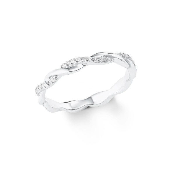 s.Oliver Damen Ring 2022719 Zirkonia Silber