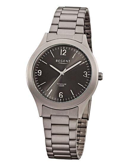 Regent Herren Armbanduhr F-838 Titan