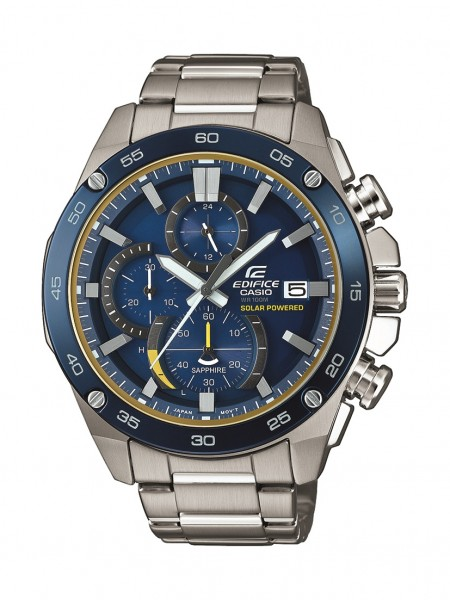 Herren-Armbanduhr Solar Chronograph EFS-S500DB-2AVUEF Edifice