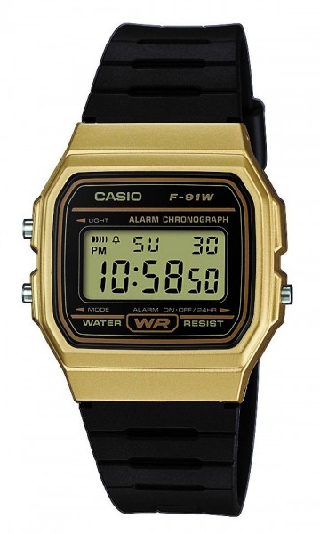 Casio Armbanduhr F-91WM-9AEF digital