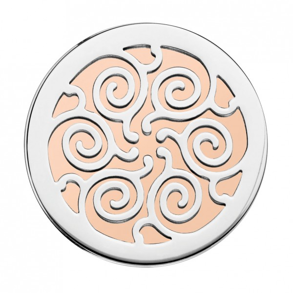 CEM Coins CS193/CS194 Anhänger Trible rose