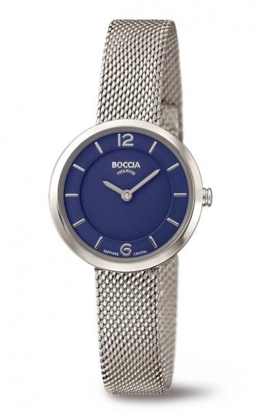 Boccia Damen Armbanduhr 3266-05 Superslim