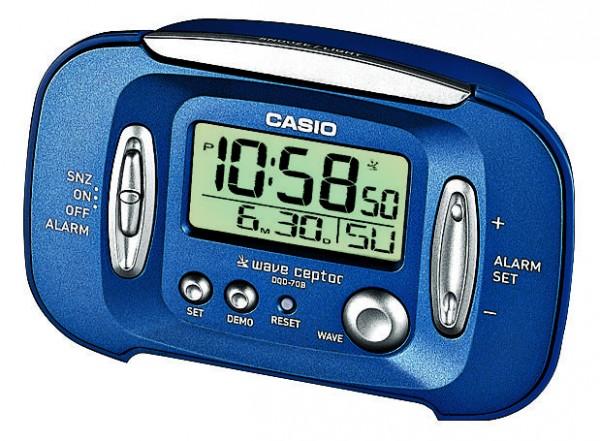blau Uhren & Schmuck Casio Wecker