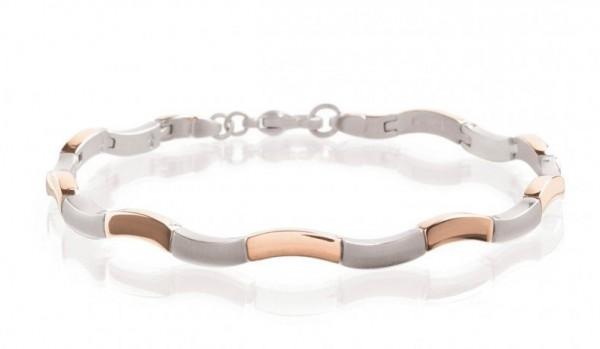 Boccia Damen Armband 0370-05 Titan Roségold plattiert
