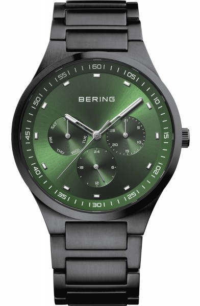 Bering Herren Armbanduhr 11740-728 Classic schwarz IP