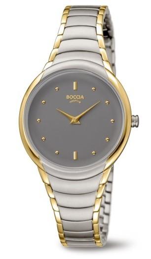 Boccia Damen Armbanduhr 3276-13 Trend
