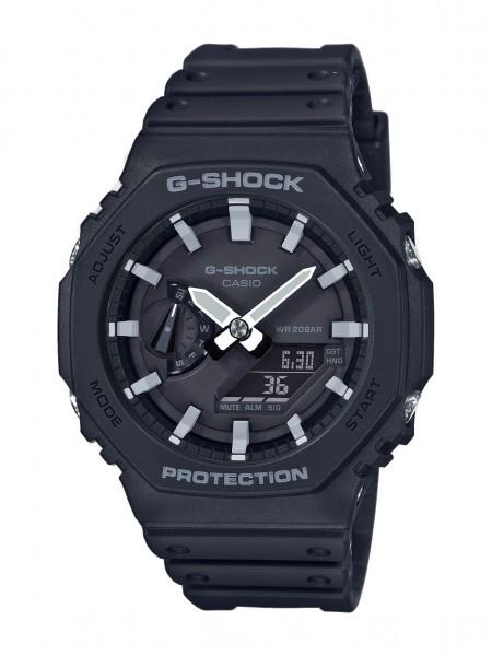Casio Herren Armbanduhr G-Shock GA-2100-1AER analog digital
