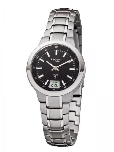 Regent Damen Armbanduhr 3073.90.96 FR-190 Funk Titan
