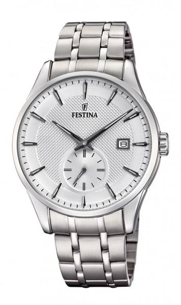 Festina Herren Armbanduhr F20276/1 Classic Retro