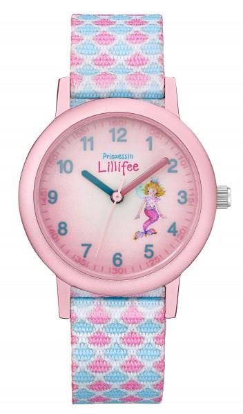 Prinzessin Lillifee Kids - Girls Armbanduhr 2031755 Textilband Meerjungfrau