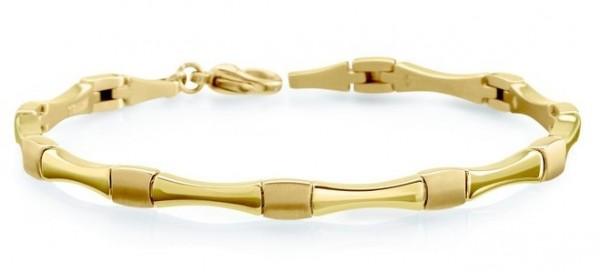 Boccia Damen Armband 03037-03 Titan gelbgold IP