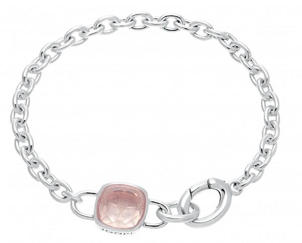 JOOP! Damen Armband 2030913 Silber 925 Rosenquarz