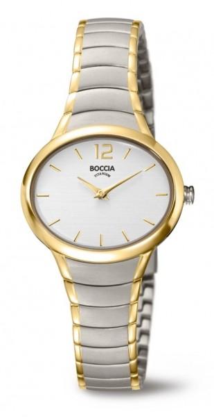 Boccia Damen Armbanduhr 3280-03 Trend bicolor