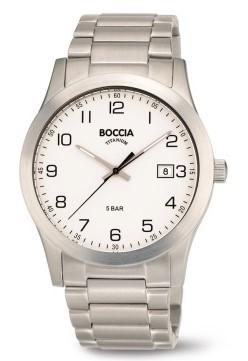 Boccia Herren Armbanduhr 3619-01 Classic