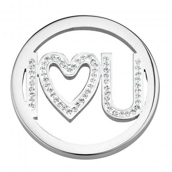 CEM Coins CS131/CS132 Anhänger I love U