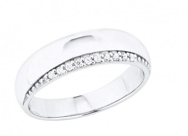 s.Oliver Damen Ring 2027569 Zirkonia Silber