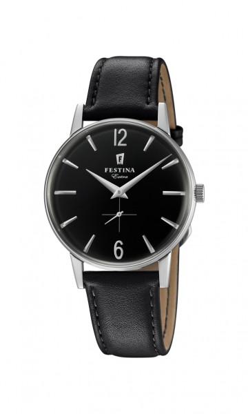 Festina Herren Armbanduhr F20248/4 Classic Extra Neuauflage von 1948