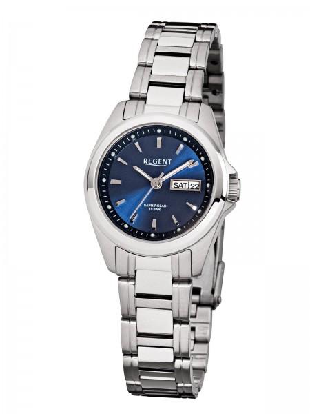 Regent Damen Armbanduhr F-518 Edelstahl