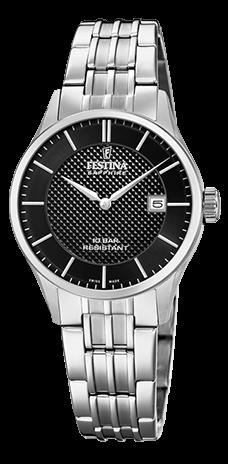 "Festina Damen Armbanduhr F20006/4 ""Swiss Made"""