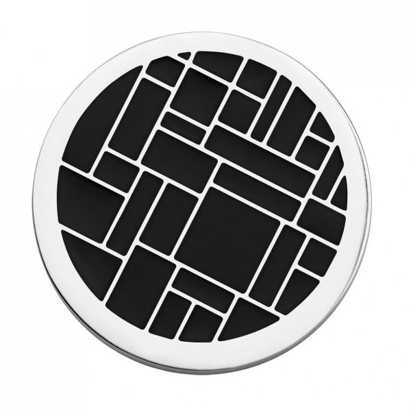 CEM Coins CS163/CS164 Anhänger Emaille schwarz