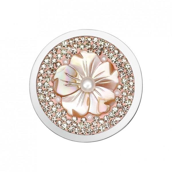 CEM Coins CS223/CS224 Anhänger Blüte rose Perle