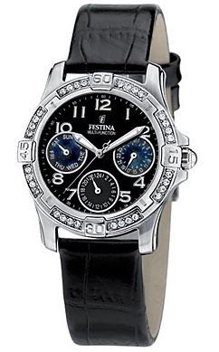 Festina Damen Armbanduhr F16021/9 Trend Multifunktion