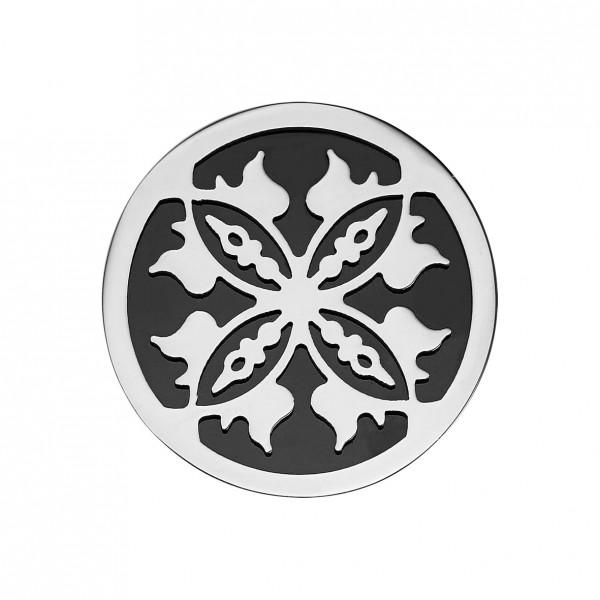 CEM Coins CS237/CS238 Anhänger Blüte schwarz