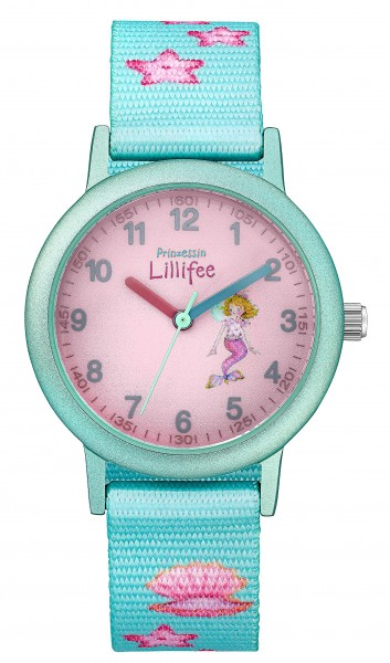 Prinzessin Lillifee Kids - Girls Armbanduhr 2031754 Textilband Seesterne