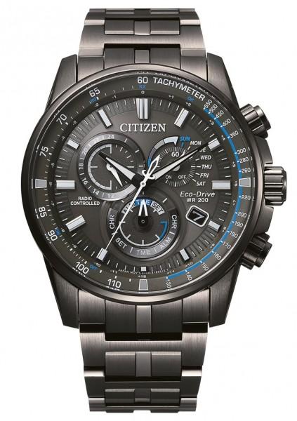 Citizen Herren Armbanduhr CB5887-55H Funk Eco Drive