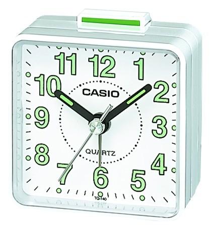 Casio Wecker TQ-140-7EF analog weiß