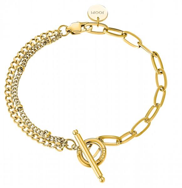 JOOP! Damen Armband 2031014 Edelstahl gelbgold IP