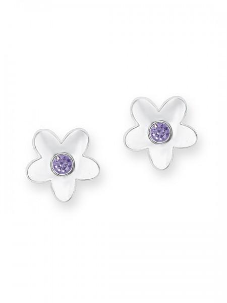 Lillifee Ohrstecker 9245758 Blume Silber 925