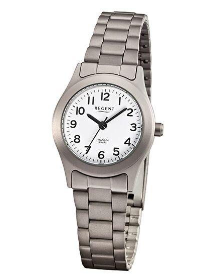 Regent Damen Armbanduhr F-855 Titan