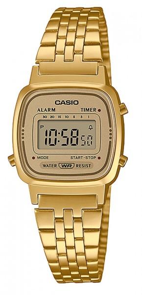 Casio Damen Armbanduhr LA670WETG-9AEF Vintage digital